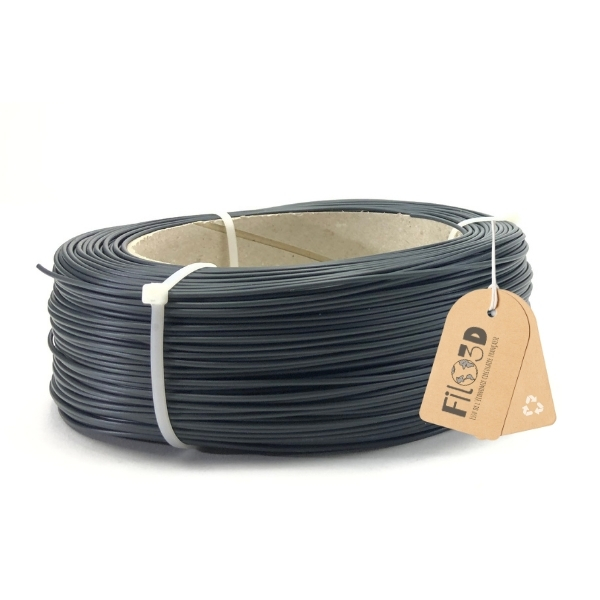 Filament Filo 3D PLA 1.75mm - Gris anthracite