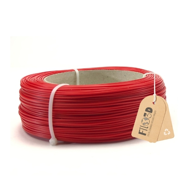 Filament Filo 3D PLA 1.75mm - Rouge garance