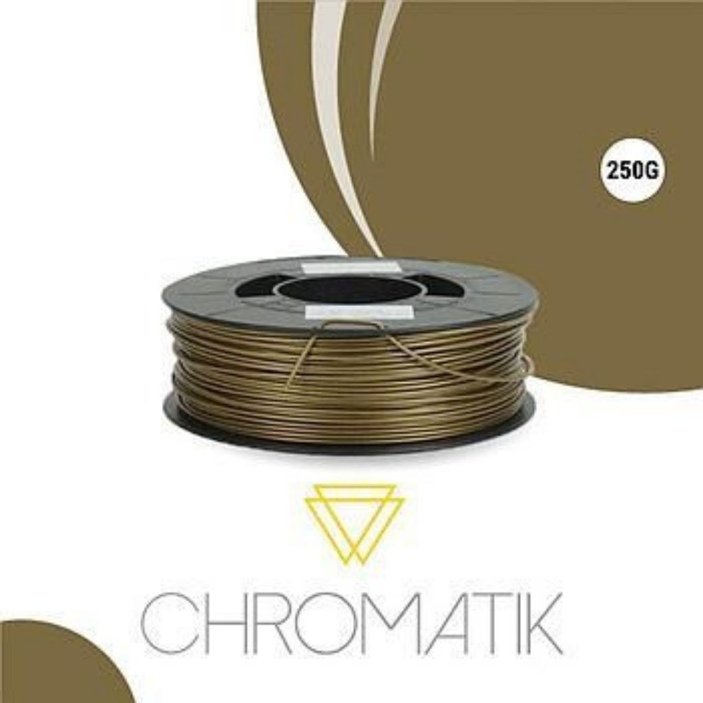 Filament Chromatik PLA 1.75mm - Bronze (250g)