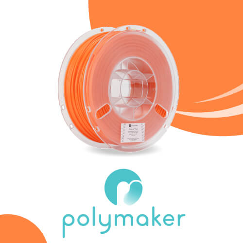 Filament PolyFlex PLA 1.75mm - Orange