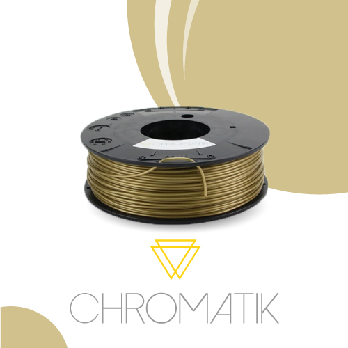 Filament Chromatik PLA 1.75mm - Or