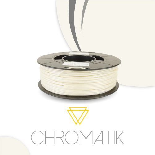 Filament Chromatik PLA 1.75mm - Blanc Perle