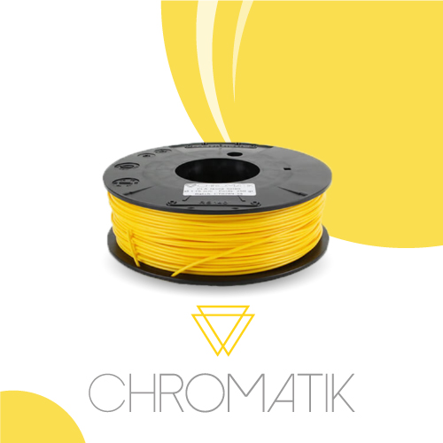 Filament Chromatik PLA 1.75mm - Sun Yellow