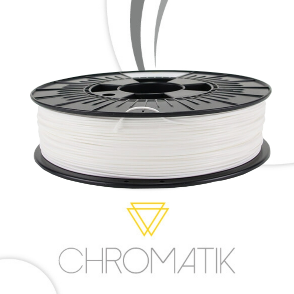 Filament Chromatik PLA 1.75mm - Blanc 750g
