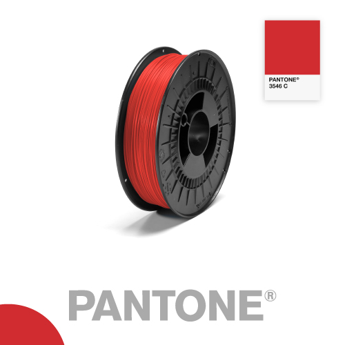 Filament Pantone PLA 1.75mm - 3546 C - Rouge