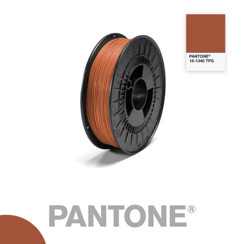 Filament Pantone PLA 1.75mm - 18-1345 TPG - Rouille