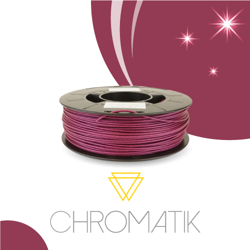 Filament Chromatik PLA 1.75mm - Violet Pailleté
