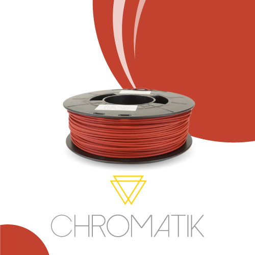 Filament Chromatik PLA 1.75mm - Rouge Brique