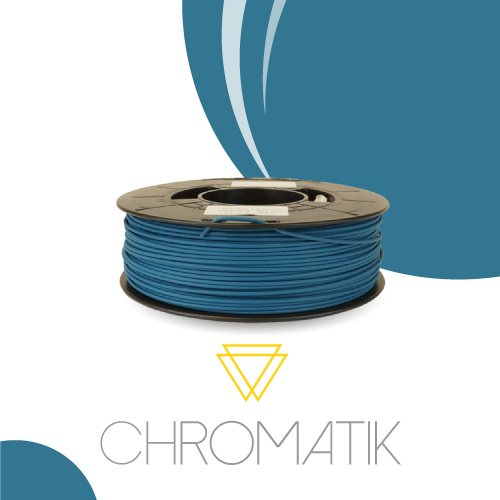 Filament Chromatik PLA 1.75mm - Bleu Canard