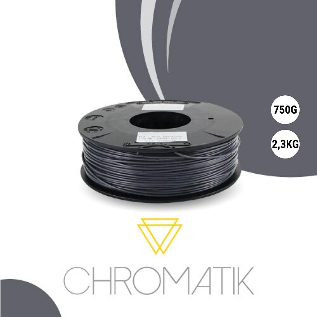Filament Chromatik PLA 1.75mm - Gris Anthracite