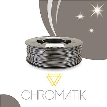 Filament Chromatik PLA 1.75mm - Gris Pailleté